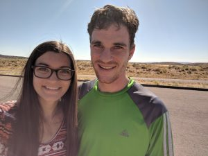 Couple at Dinosaur National Monument